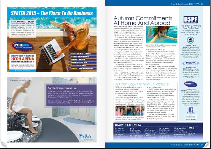 Pool and Spa Scene Oct2014