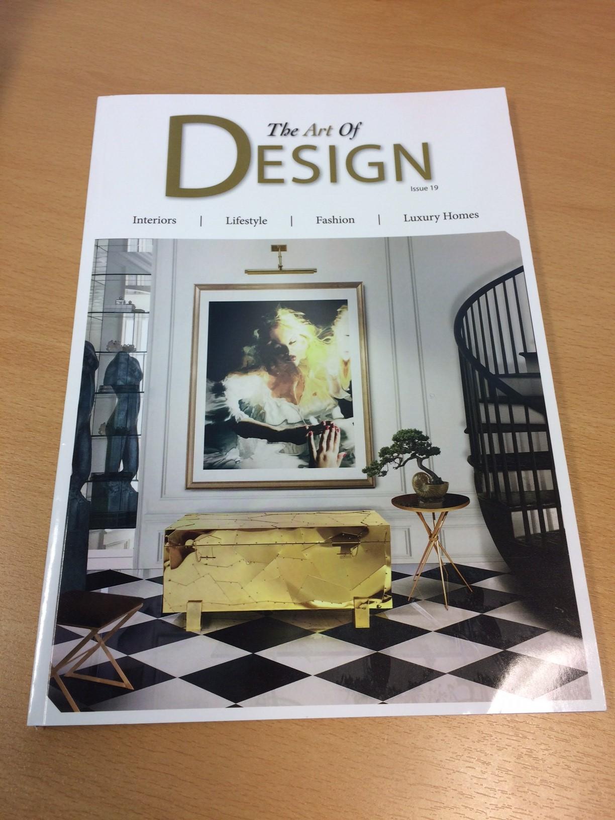 Art of Design Magazine – March 2016